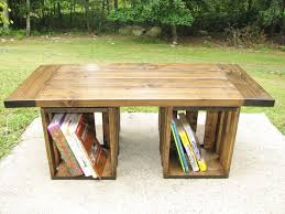 Rustic Storage Coffee Table Rustic Storage Coffee Table Style Dans Design Magz