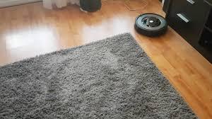 Irobot Laminate Floors Irobot Roomba 866 Having Problems With Carpets Youtube