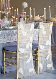 lace chair covers lace reception chair cover decoration by wildflower
