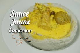 bonne cuisine camerounaise sauce jaune cameroun