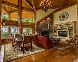 Pictures Of Log Home Interiors 22 Luxurious Log Cabin Interiors You To See Log Cabin Hub