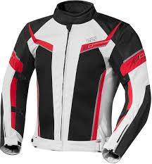 motorcycle jackets ixs ashton grey black red motorcycle clothing textile ixs