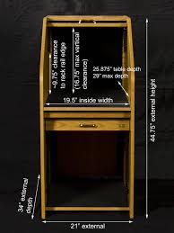 Audio Visual Rack Hsa Rolltop Desks Racks U0026 Podiums