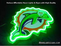 bud light nfl neon sign nfl miami dolphins 3d neon sign beer bar light nfl neonlightsign