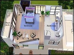 mod the sims dream decks modern villa
