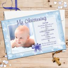 How To Do Invitation Card Personalised Christening Invitation Cards Festival Tech Com