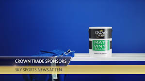 Crown Decorating Centre Jobs Phd Secure Sponsorship Renewal Of Sky U0027s Sports News At Ten For