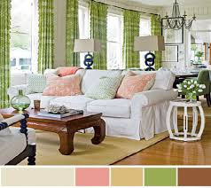 Light Green Curtains Decor Living Room Decorating Interior Color Schemes Paint