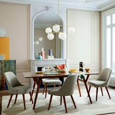 mid century dining table and chairs awesome mid century dining table table design mid century dining