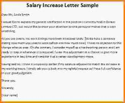 13 salary increase letter letter template word