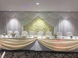 wedding backdrop gumtree flower wall luxury ivory silk flower wall to hire for weddings