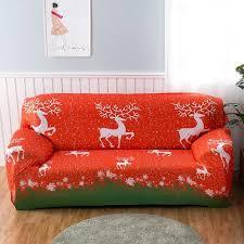 canap rennes joyeux noël elk housse extensible canapé couvre rennes tout compris