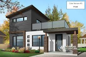 modern 2 house plans house plan w1703 detail from drummondhouseplans com