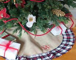 brilliant decoration plaid christmas tree skirt skirts you ll love