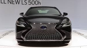 lexus ls hybrid 2018 price wow new 2018 lexus ls 500h hybrid v6 makes v8 power youtube