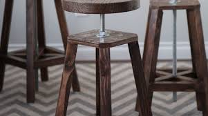 bottoms up build these stylish adjustable height bar stools make