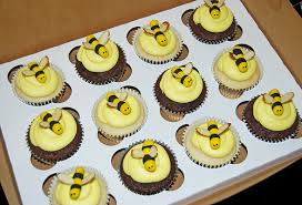 bumble bee cupcakes bumble bee baby shower cupcakes