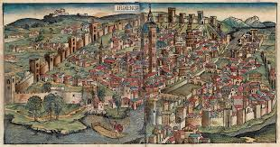 Florence Italy Map Nuremberg Chronicles Florencia Png 1946 1025 Renaissance