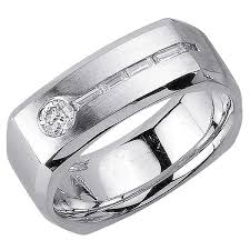 wedding ring depot 55ct tcw 14k white gold flat unique band 8mm 3002492 shop at