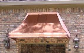 Copper Awnings For Homes Cypress Sweep Awning