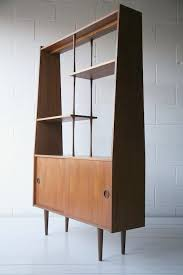 good modern display cabinet 1960s teak room divider mid century