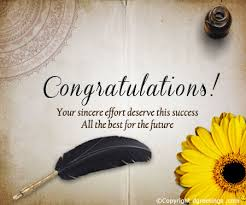 congratulatory cards congratulate your loved ones on their success with this cool card