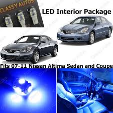 nissan altima yellow engine light amazon com classy autos nissan altima blue interior led package