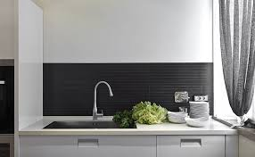 Modern Tile Backsplash Kitchen - Modern kitchen backsplash