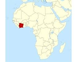 Scramble For Africa Map by Maps Of Cote D U0027ivoire Detailed Map Of Cote D U0027ivoire In English