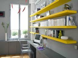 le de bureau jaune le bureau avec étagère designs créatifs archzine fr