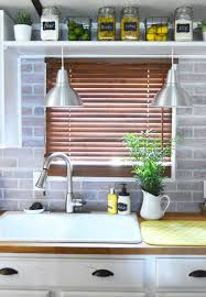 brick kitchen backsplash 5 chic diy brick and faux brick kitchen backsplashes shelterness