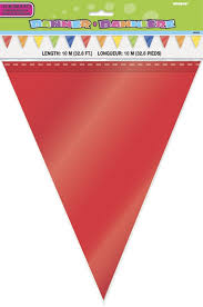 Plastic Flags Amazon Com 32 8ft Plastic Rainbow Pennant Banner Kitchen U0026 Dining