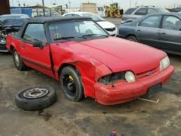 1992 ford mustang 1992 ford mustang lx for sale ca salvage cars