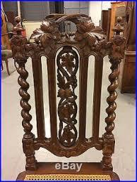chaises louis xiii suite de six chaises de salle à manger style louis xiii 1900
