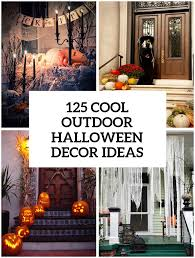 Outdoor Yard Decor Ideas 125 Cool Outdoor Halloween Decorating Ideas Digsdigs