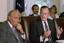 George Bush Cabinet Former Gop House Leader Illinois Rep Bob Michel Has Died At 93