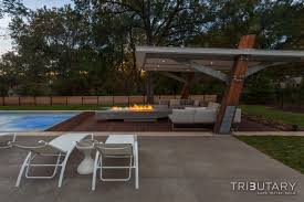 geometric mid century modern tributary pools u0026 spas