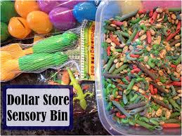 mom mart kid craft dollar store sensory bin for kids