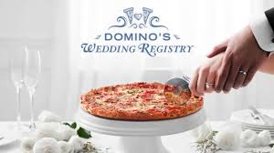 how do you register for wedding gifts engaged couples can now register for wedding gifts at domino s