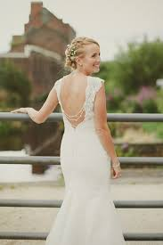 wedding dresses sheffield wore a beaded lace alexia designs wedding gown to a vintage