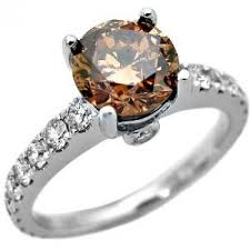 brown diamond engagement ring 6 50ctw cut brown diamond engagement ring diamond