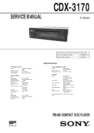 sony cdx gt57upw wiring diagram wiring diagrams