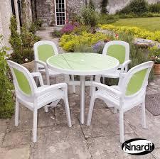 nnardi toscana garden furniture set 4 beta chairs buy online at