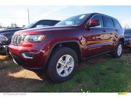 jeep red 2017 2017 velvet red pearl jeep grand cherokee laredo 118667996