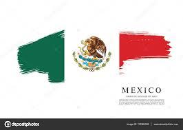 mexican flag banner template u2014 stock vector igor vkv 137863008