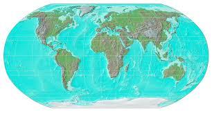 tunisia physical map sésamo mapas maps physical map of the world