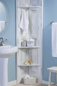 Corner Shelving Bathroom Build These Bathroom Corner Shelves From Bi Fold Doors