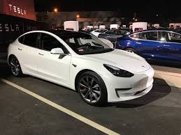 tesla model 3 will have smart air suspension option linked to