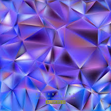 blue purple polygon triangle pattern background 123freevectors