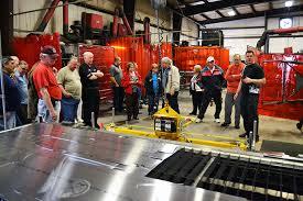 tri state corvette tri state corvette visits factory five factory five racing